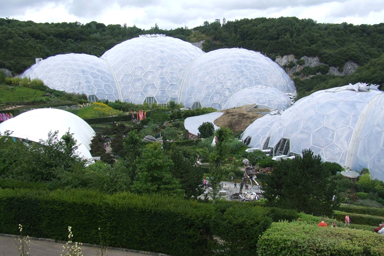 Picture: The Eden Biome, Image Credit: Photographer Katrina Malley